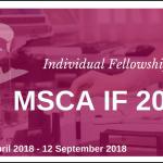 Marie Skłodowska-Curie 2018Individual Fellowships